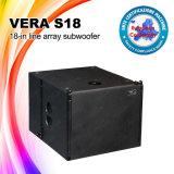 Prijs van het Systeem van DJ van de Doos van Vera S18 Line Array DJ Sound de Correcte