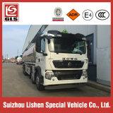 8X4 Sinotruk HOWO 30000L Capacidade Caminhão-tanque de combustível de liga de alumínio