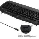 Tastiera di gioco della Anti-Formazione immagine residua di 19 tasti con il LED illuminato (KB-1902EL)