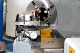 Grosses Spindel-Ausbohrungs-Metall-CNC-Metallrohr, das Drehbank-Maschine verlegt
