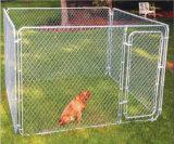 Псарня собаки звена цепи металла гальванизированная рамкой/большая клетка собаки