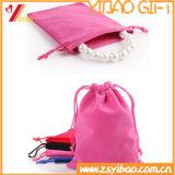 Sac de cadeau de velours de qualité pour le bijou (YB-LY-VE-05)