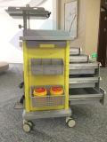 [أغ-ت017] مستشفى طارئ حامل متحرّك عربة طبّيّ مع ساحب