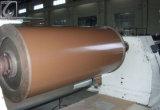 Cc/Cc Color de la bobina de aluminio recubierto de 3125 para la decoración de madera