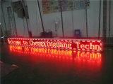 El panel de visualización móvil de LED del alto brillo del texto