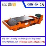 Separador eletromagnético Self-Cleaning seco para materiais de construção da mina de quartzo do açúcar