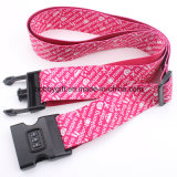 Poliestere Baggage Strap, Luggage Belt con Safety Lock