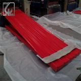 0.13mm SGCC heißes eingetauchtes galvanisiertes gewölbtes Dach-Blatt