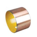 Bimetal de latón bronce fundido de cojinete de deslizamiento para el tren de alta velocidad