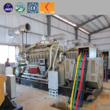 10kw-1100kw de energía de Gas Natural Metano generador silencioso