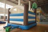 Bouncer inflável temático nevado do divertimento do elogio para a venda
