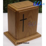 Solid Oak Clouded Wholesale Cheapest Price Wooden Urns