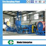 고무 분말 플랜트를 재생하는 Xinda 자동적인 폐기물 타이어