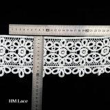 Collare del merletto del Crochet della guipure del cotone del collo di disegno del ricamo di modo per il vestito L165