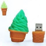 아이스크림 콘 U 디스크 모형 USB 2.0 기억 장치 지팡이의 시뮬레이션