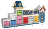 Sf 02W木子供のおもちゃ箱、おもちゃのキャビネット