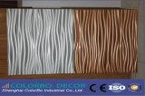 Отличное качество звука поглощение деревянные волокна настенной панели 3D