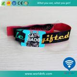 Vente en gros de textile / textile / tissé / Festival / Polyester / bracelet de fête pour événement musical