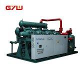 El compresor, unidad de condensación.
