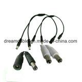 Предлагаем 1,2 м разветвитель кабеля питания постоянного тока 1 женщины на 2/4 мужчины