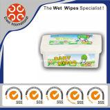 Etiqueta privada Baby Skin Care Wet Wipes
