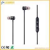 De Metal personalizados de la tecnología inalámbrica Bluetooth auriculares intrauditivos con mensaje de voz para iPhone de Apple