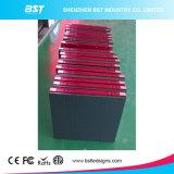 De hoogte verfrist LEIDENE van de Huur van de Kleur van het Tarief P6mm Binnen Volledige Vertoning