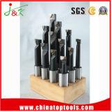 Barres d'alésage inclinées par carbure métrique en bois du cobalt HSS de stand