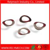Rondelles de freinage simples incurvées de ressort hélicoïdal