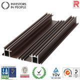 Profil en aluminium/aluminium extrudé pour surface en bois (RAL d'Extrusion-240)