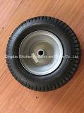 3.00-4 Rueda de goma de la carretilla, rueda de Handtruck con el borde de calidad superior