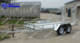 Brake (SWT-CT166)のCompetative Price 2 Axle Car Carrier Trailer