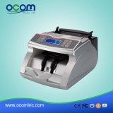 Rivelatore della falsificazione della banconota di valuta di alta qualità che conta macchina