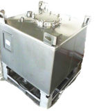 1000liter Steel IBC Tank voor Food & Chemical Storage