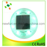 Las ventas de fábrica de luz estroboscópica LED parpadea la luz de carretera Solar Stud