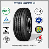Tous les pneus radiaux en acier de camion et de bus avec le certificat 295/80r22.5 (ECOSMART 78) de CEE
