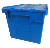 контейнер крышки высокого качества 550X375X325mm Stackable прикрепленный