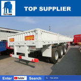 Titaan 3 de Semi Aanhangwagen van de Omheining van de Aanhangwagen van de Lading van Assen voor Verkoop