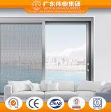 Porte coulissante en aluminium de vente directe d'usine de Foshan pour l'intérieur extérieur
