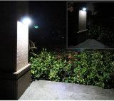 Resistente al agua de la seguridad inalámbrica Sensor de movimiento de la luz solar para Patio, Terraza, Patio, jardín, garaje, pared exterior