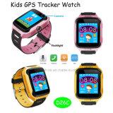電話APP及びカメラ(D26C)が付いている熱い販売の子供の追跡者の腕時計