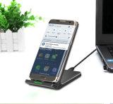 Interfaccia del USB di tasso di conversione del caricatore della radio di iPhone X di sostegno alta con la fabbrica di carico senza fili verticale del ventilatore 9V