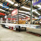 De op zwaar werk berekende Vrachtwagen van Lowbed van 4 As/Semi Aanhangwagens met AchterLadder