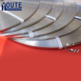 304/316 de aço inoxidável dos Ss que prende com correias a faixa para cabos e tubulações