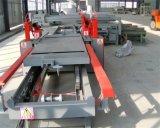 端のトリミングは合板の作成については機械を見た