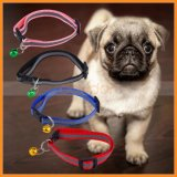Nacht Safety Adjustable High Visibility Reflective Puppy Dog Pet Collar mit Bell