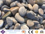 2-3cm noir naturel poli &de galets Pebble Stone