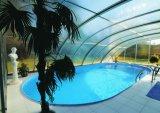 UV преграждая крышка 100% плавательного бассеина поликарбоната девственницы