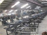 Печатная машина шелковой ширмы вкосую Ce рукоятки Approved плоская