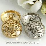 Dispositif de fixation annexe de décoration de matériel de bouton de promotion de mode de vêtement en gros en métal
